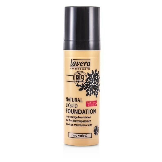 Lavera Natural Liquid Foundation (10H Long Lasting) - #02 Ivory Nude 30ml
