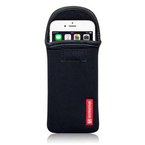 Shocksock Black Neoprene Pouch Case for Apple iPhone 6 (4.7 Inch)