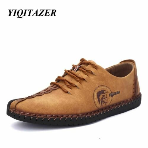 YIQITAZER 2017 New Arrival Nubuck Leather Shoes Man,Lace Fashion Summer Brand Dr