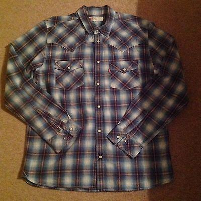 Mens Levi's Shirt Size Large