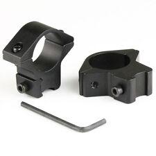 "2 Pcs / 1pair 3/8"" Dovetail 1"" Diameter 10mm Low Profile Scope Ring Mount"