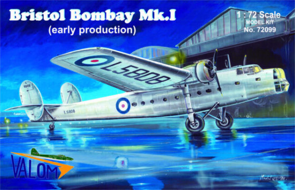 Valom 1//72 Bristol Bombay Mk.I RAAF plastic kit