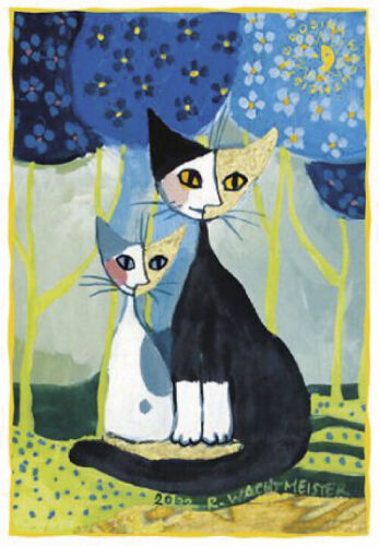 Rosina Wachtmeister Romance Postkarte Kunstdruck