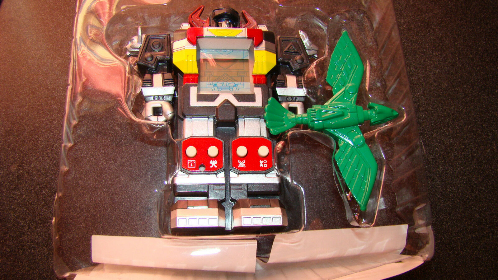 Power Rangers Lost Galaxy Battling Game Green Galaxy Digizord RARE
