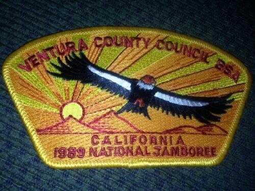 MINT 1989 JSP Ventura County Council Yellow Border