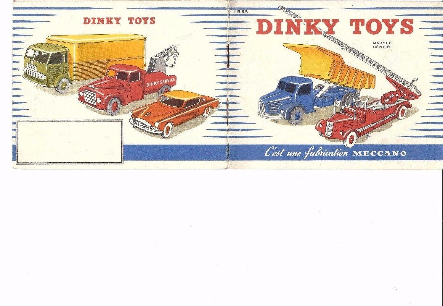 Catalogue Dinky Dinky Dinky Toys France 1955 c9ad89