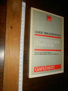 LIBRO-Sozzi-De-Gennaro-Letteratura-francese-GARZANTI