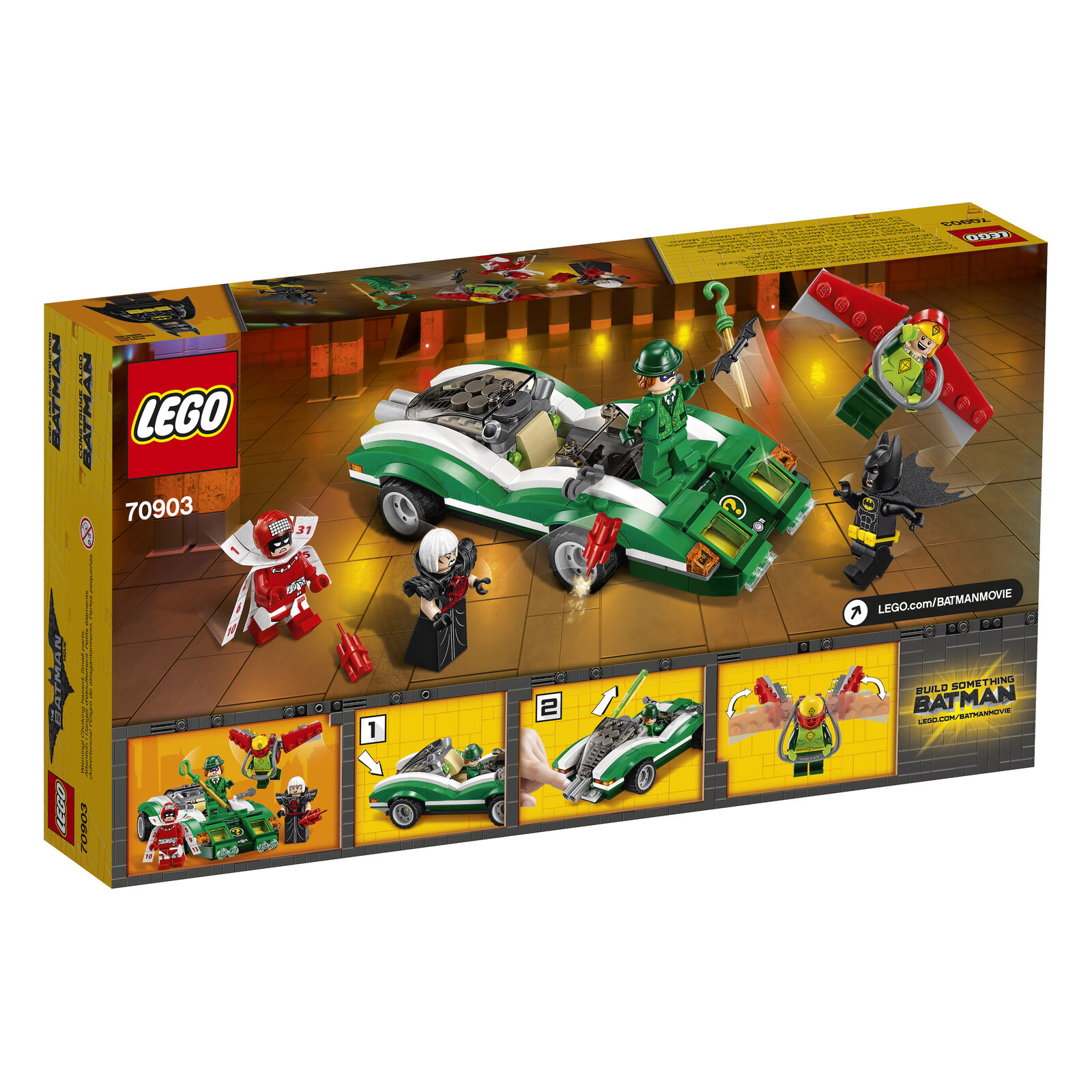 LEGO® THE LEGO® BATMAN MOVIE 70903 The Riddler™    Riddle Racer NEU OVP NEW MISB ad36e7