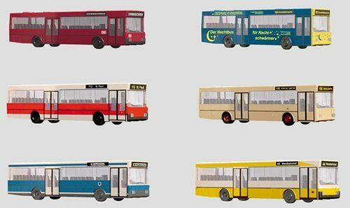 Minitrix 12er-set Display Autobus e Pullman - 65400 Neu
