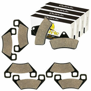 Front /& Rear Brake Pads For Arctic Cat 650 HI V-TWIN FIS 2004 2005 2006-2008