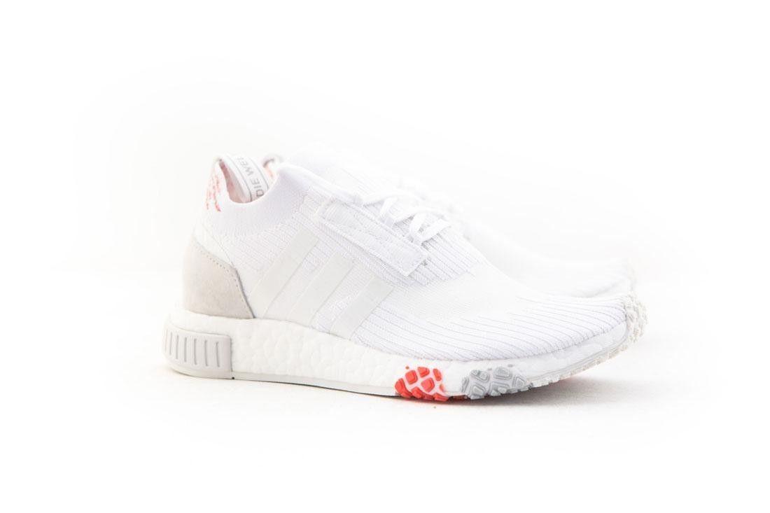 CQ2033 Adidas Women NMD Racer PK W white footwear white trace scarlet