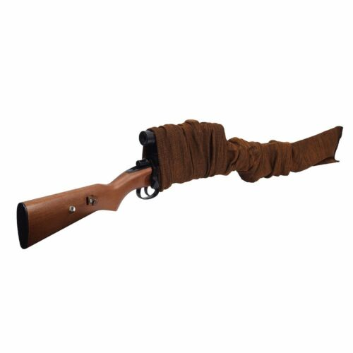 Tactical Silicone Gun Sock Extra Wide Rifle Shotgun Large Cover Scopes Optics