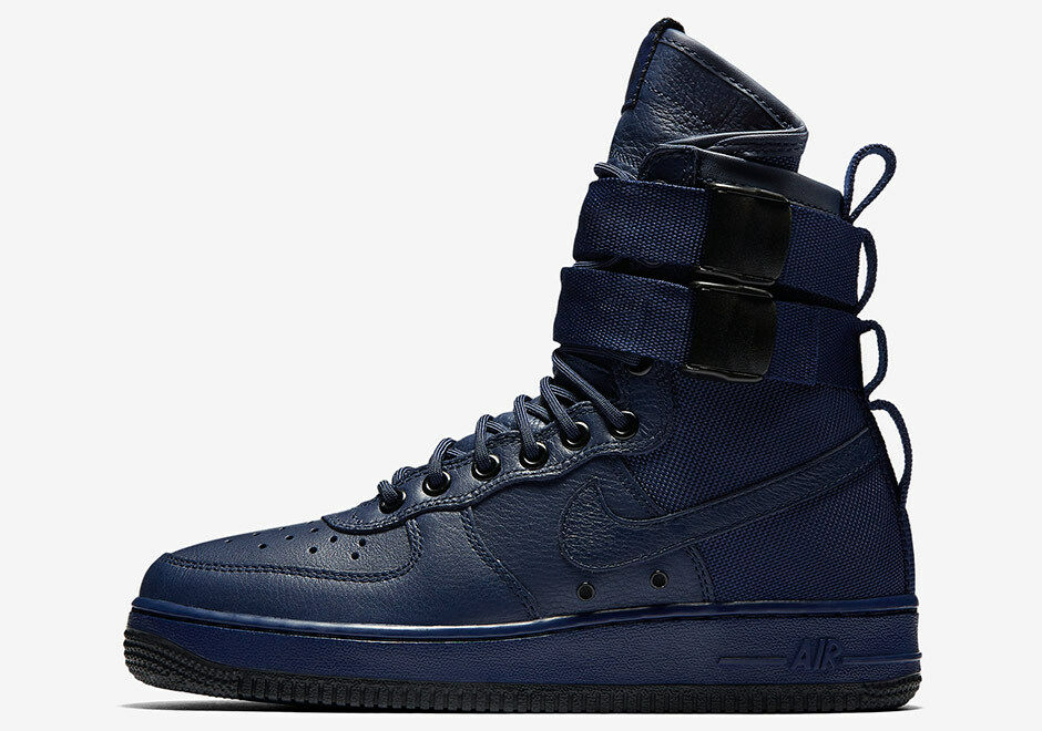 Nike Donna Air Force 1 Speciale Blu Campo Sf Binario Blu Speciale 857872 400 Misura 5,5 0c666e