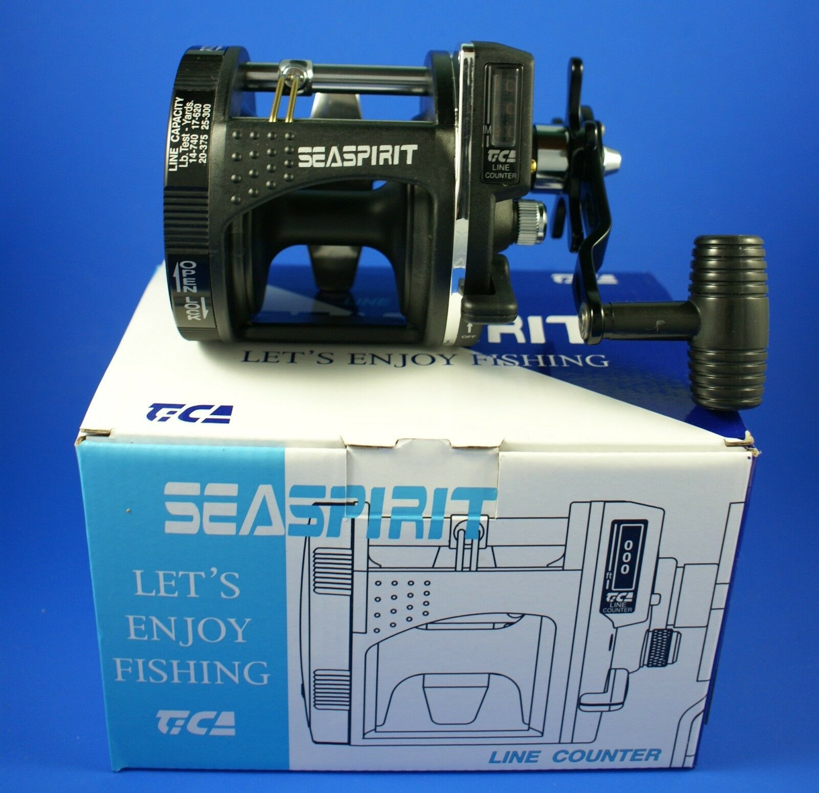 TiCa Seaspirit SP458R C Sea Fishing Reel