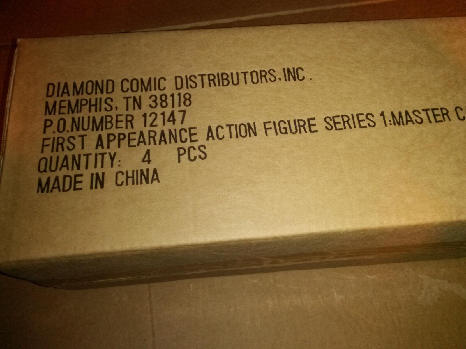 DC Direct 1st First Appearance SET of 4 Series 1 Batman Wonder Flash Shazam NEW