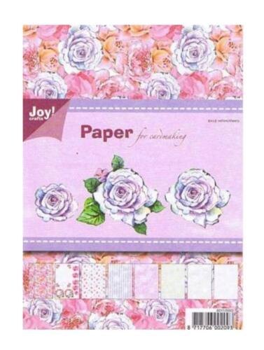 32 DESIGNPAPIER DIN A5 Joy!Crafts HAPPY BLOC/'S Paper Scrapbooking Grußkarten