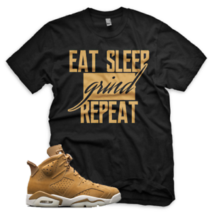 BLACK-Wheat-GRIND-T-Shirt-for-Jordan-Golden-Harvest-6-OG-Wheat-Gold-1-13