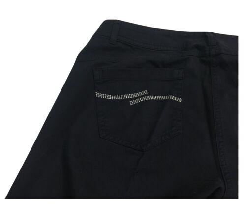 Coton 3 Elena Miro' Femme up 5 Pantalons Élasthanne 97 Push 19 Cm Fond xUXqAU