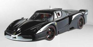 1 Ferrari Fxx Evolution Noir 1:18 Mattel Elite