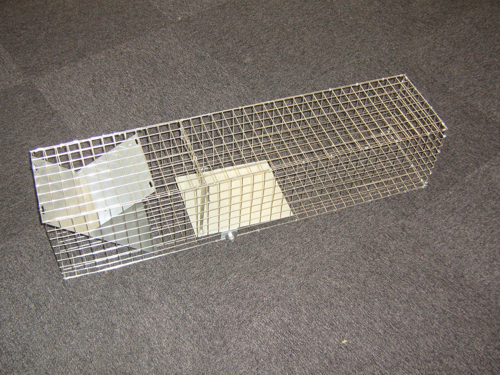 Marderfalle lebendfalle gatos trampa de alambre caso caja Trampa trampa-acero inoxidable