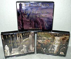 The-Return-Of-The-King-3-Volume-Set-Audio-CD-Book-J-R-R-Tolkien-Harper