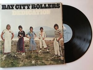 BAY-CITY-ROLLERS-DEDICATION-1976-gatefold-MINT-vinyl-LP-ARISTA-AL-4093