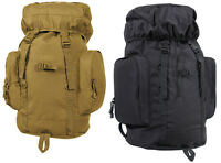 Tactical Backpack 22 Coyote Brown Or Black 45l Hiking Day Pack Gear Bag