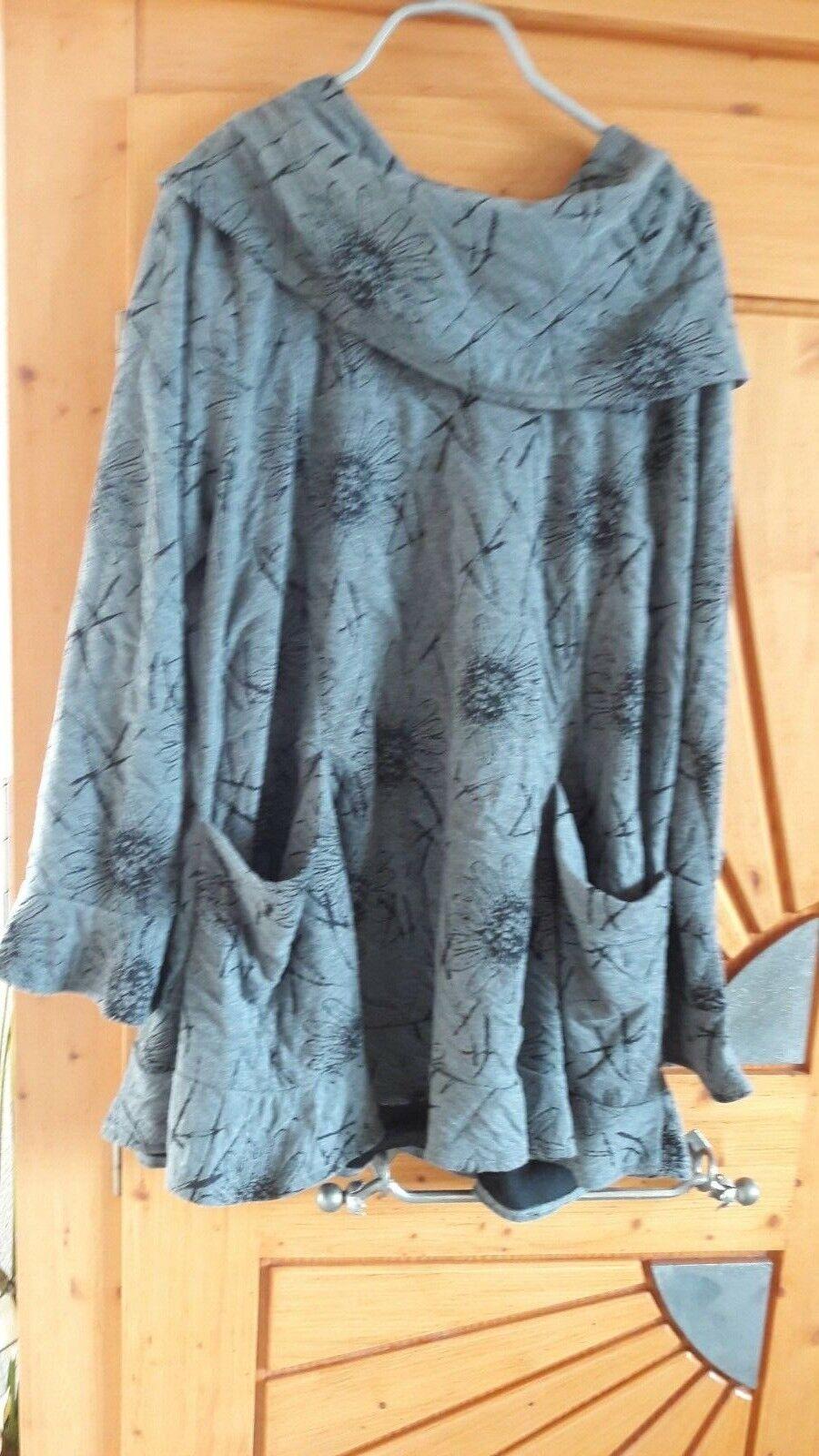 XADOO Damen Rollkragen Pullover,Farbe    Grau, Gr.    One Größe  | Zuverlässiger Ruf  094dd4