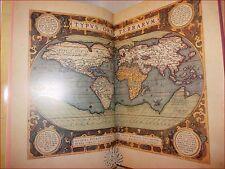 """Ortelius: ATLANTE """"THEATRUM ORBIS TERRARUM"""" Ediz. Num. GIUNTI 1991 Carte Mappe"""