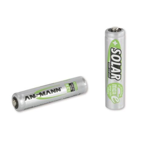 4x AAA radio-teléfono-baterías Ansmann Maxe micro Green 550 Mah
