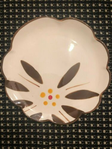 """Temptations Old World 8/"""" Salad Plate Brown"""