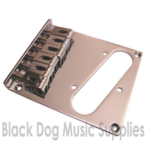 Modern Gitarre Telecaster Brücke Chrom Schwarz Gold Bt001
