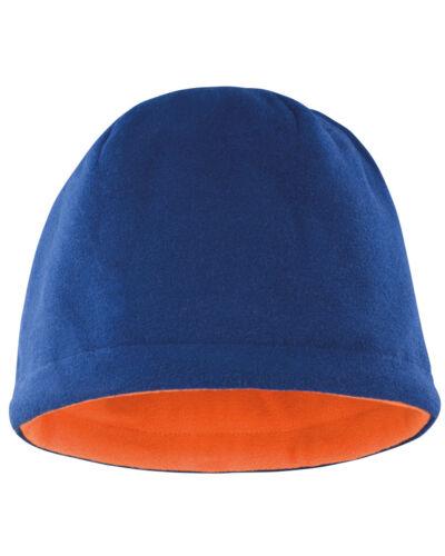 RESULT Polaire crâne chapeau chaud réversible couleurs Beanie Ski Quick Dry Hiver Doux