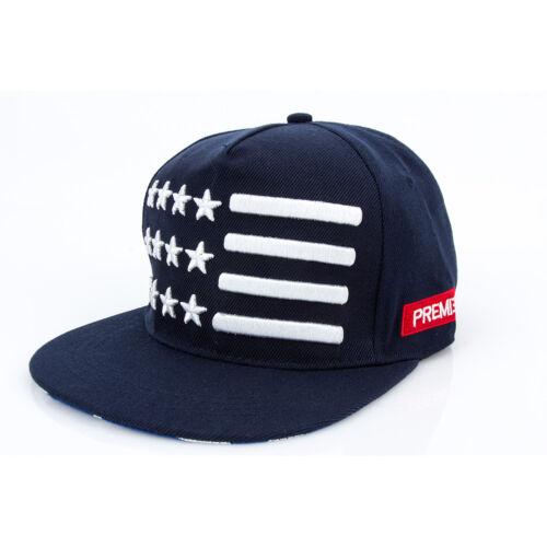 Men Womens Hip-hop Rock Baseball Caps US Flag Sports Dance Party Hats Snapback