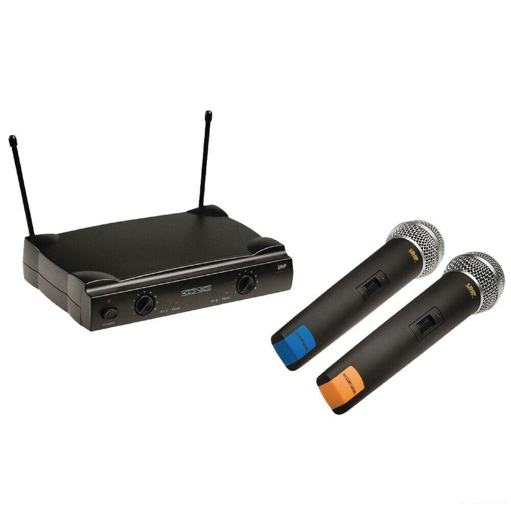 risparmia fino al 70% 2 canali radio microfono 863-865 MHZ WIRELESS WIRELESS WIRELESS MICROFONO MANO microfono manifestazione  la migliore offerta del negozio online