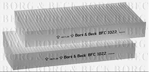 BORG /& BECK Cabine Filtre Pour Honda Hayon CIVIC 2.0 147 kW