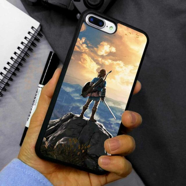 Inspired by Legend of Zelda Case For iPhone 11 Pro Max Xs Max 10 XR 7 8 Plus X Case Triforce Logo iPhone 11 Pro Breath Wild Zelda Phone Cover G8