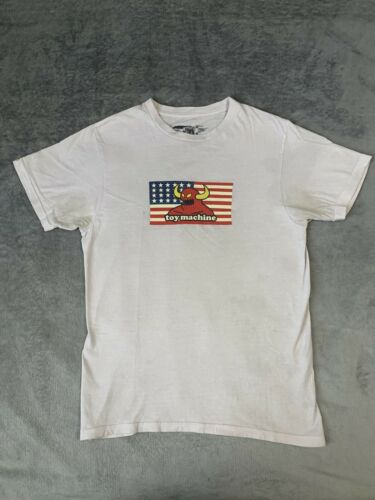 Toy Machine Skateboards T-Shirt Size Small