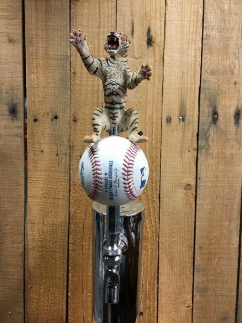 Detroit Tigers MLB Beer Tap Handle Baseball World Series Kegerator Bar Any Size