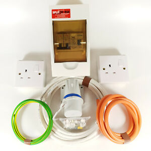V Mains Electric Hook Up Installation Kit T2/T4/T5 Van/Campervan/Motorhome