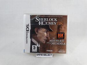 SHERLOCK-HOLMES-IL-MISTERO-DELLA-MUMMIA-NINTENDO-DS-PAL-ITALIANO-NUOVO-SIGILLATO