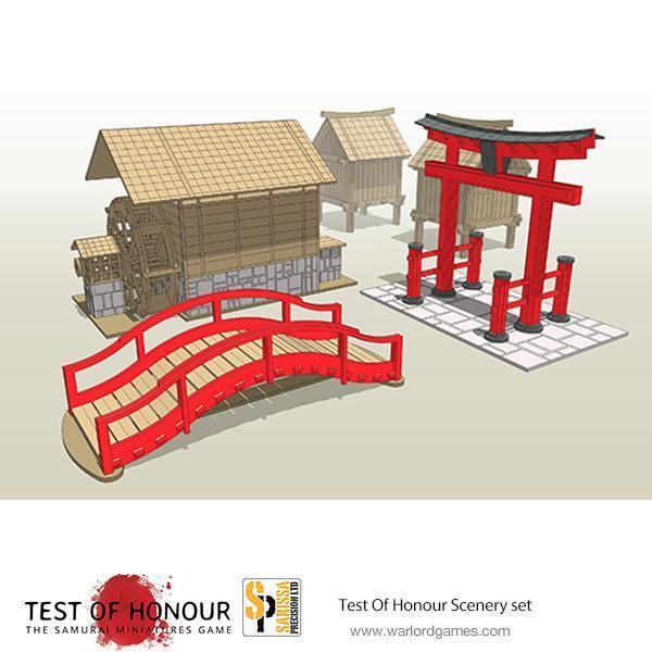 TEST OF HONOUR SCENERY SET - WARLORD GAMES