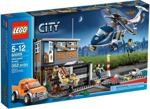 60009 HELICOPTER ARREST city town lego legos legos legos set NEW sealed RETIRED exclusive 117858