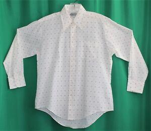 d1fd03423d NOS NWT Vintage 70's Men's KMART Cotton Blend Long Sleeve Shirt Size ...