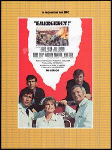 EMERGENCY-Original-1974-Trade-AD-TV-promo-RANDOLPH-MANTOOTH-JULIE-LONDON