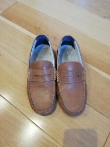 NEXT Boys Tan Leather Penny Loafers