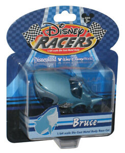 Disney Land World Store Theme Park Racers Finding Nemo Bruce 1/64 Die-Cast Toy C