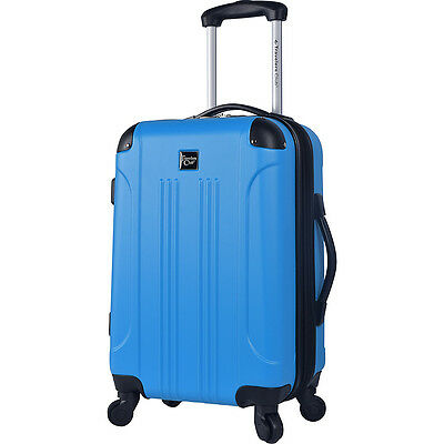 """Travelers Club Luggage Deanne 20"""" Cup-Holder Hardside Hardside Carry-On NEW"""
