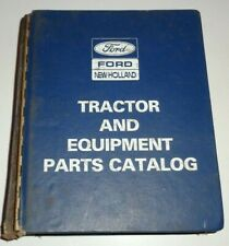 Ford 1110 1210 1310 1510 1710 1910 2110 Tractor Parts Catalog In Binder Nh Oem