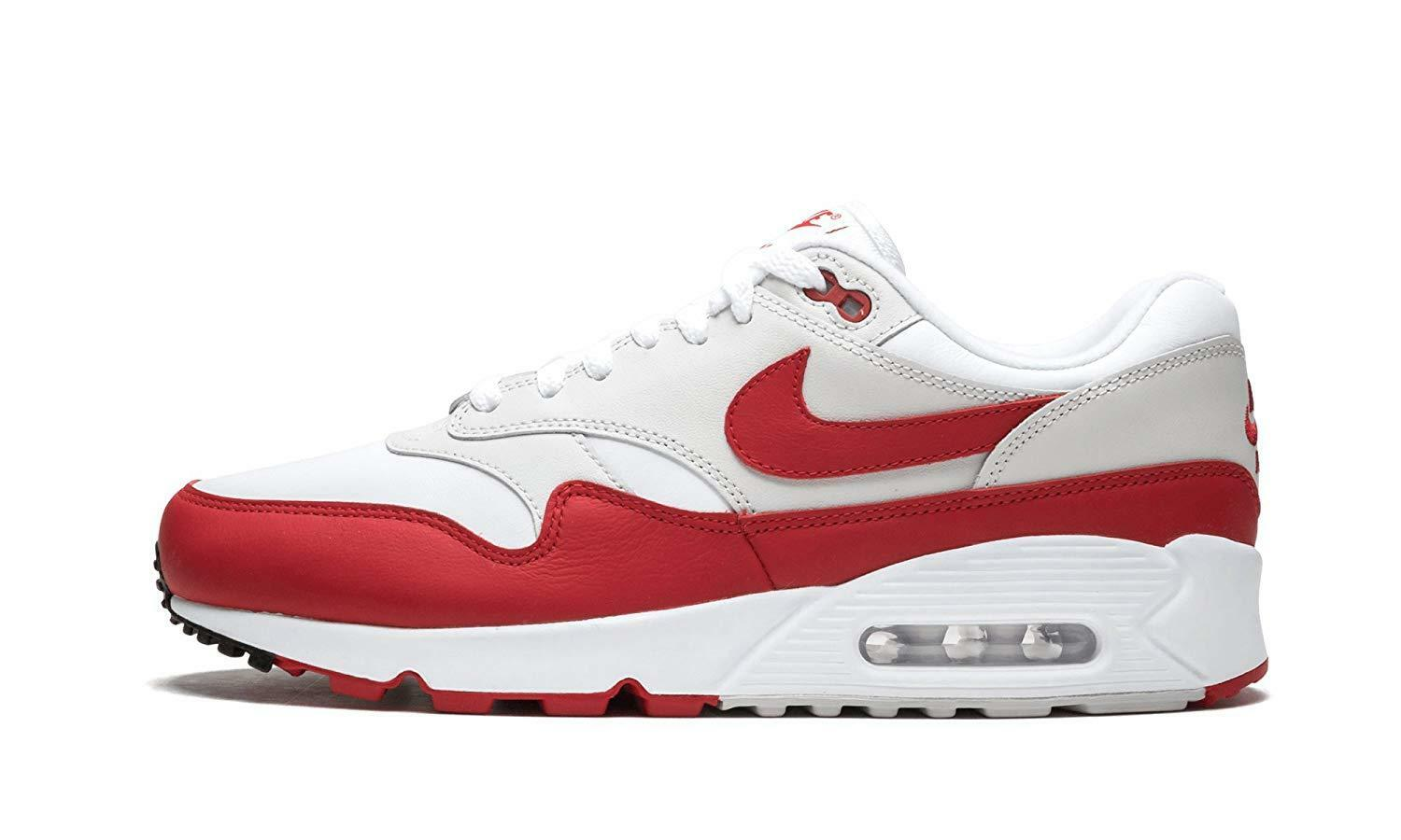 wholesale dealer 992a5 5dc24 Nike Air Max Max Max 90 1 White University Red (AJ7695 100)